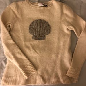Vineyard vines shell cashmere and wool sweater SM